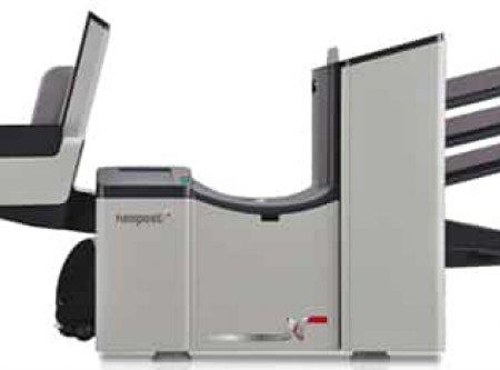 Neopost DS 75 OMR olvasóval és nagykapacitású A-Z borítékgyűjtővel